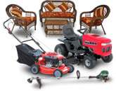 Seasonal Yard - Mark's Sales & Leasing - Mowers, Weed Eater, Snow Blower, Air Conditioner, Patio Sets