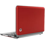 HP Laptop Red